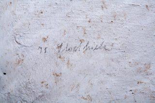 Inschrift in den Zellen